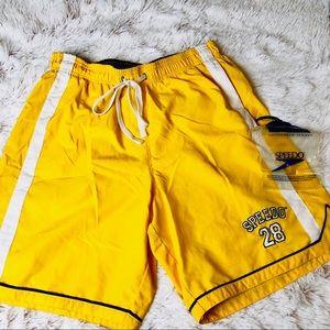Men's Speedo | swim trunks bathing suit small flaw